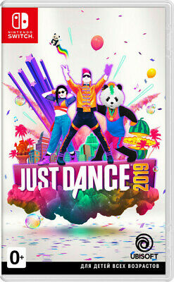 Just Dance 2019 Nintendo Switch Brand New and Sealed Region FREE