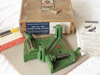 Marples Junior Mitre Cutter -- No 6808 -- Boxed, Vgc