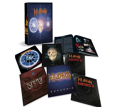 Def LeppardThe CD  Collection: Vol. 2 CD COLLECTION BOX SET  NEW (21st JUNE)
