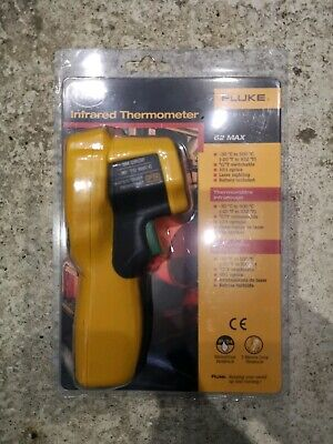FLUKE 62 MAX PLUS IR Infrared Dual Laser Thermometer / Genuine UK