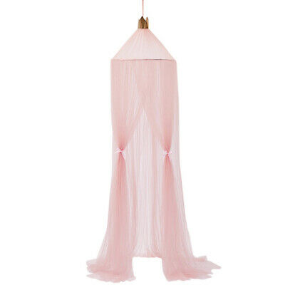 Mosquito Net Bed Canopy Dome Hanging Kids Bed Canopy Cotton for Nursery 7Colors