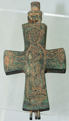 Bronze Cross with Christian decoration
