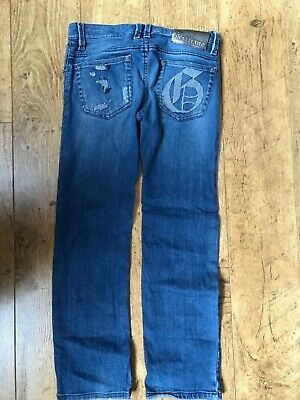 Boy's John Galliano Blue distressed Jeans Age 8yrs