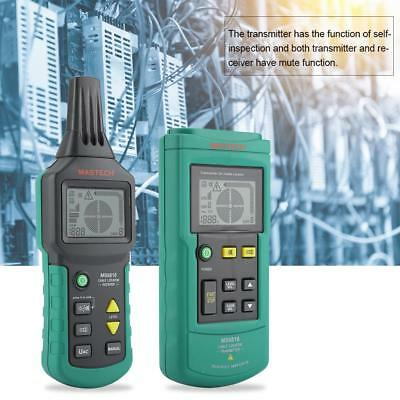 MS6818 Underground Cable Tracker Metal Pipe Locator Detector Network Wire Tester