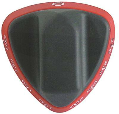 Angelo Po Knob for Frying 1D1BR1G,1D1BR2G,1A1BR1G for Thermostat Red