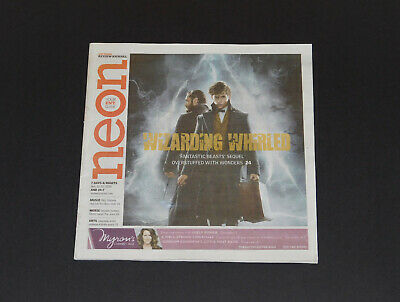 Neon Magazine Fantastic Beasts The Crimes of Grindelwald Movie Issue Nov '18 NEW