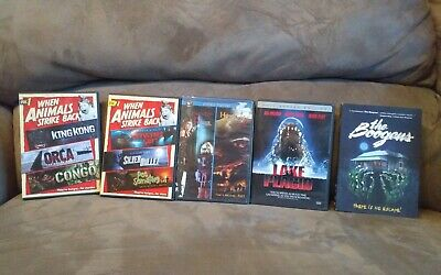 THE BOOGENS, HOWLING IV, PET SEMATARY, ORCA 1980's HORROR DVD LOT