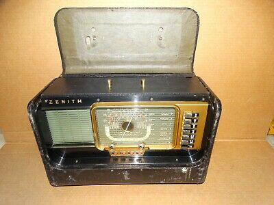 Zenith H500 Transoceanic Short Wave Radio for Parts/Repair
