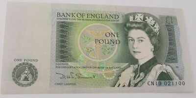 10 x GENUINE CRISP BANK OF ENGLAND ONE POUND  £1 NOTES  1978-1983