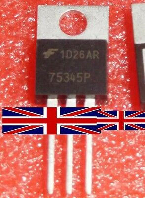 HUF75345P 75345P TO-220 Transistor from Fairchild Semiconductor