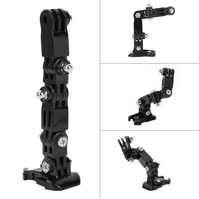 Helmet Mount Adjustable Arm Bike Ski Accessories for Gopro Xiaoyi Sports Camera