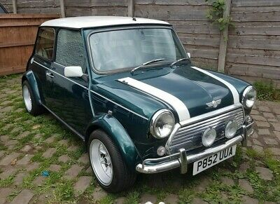 1997 Rover Mini 1.3i Cooper Sports Pack Green Austin Classic Car 1275 Injection