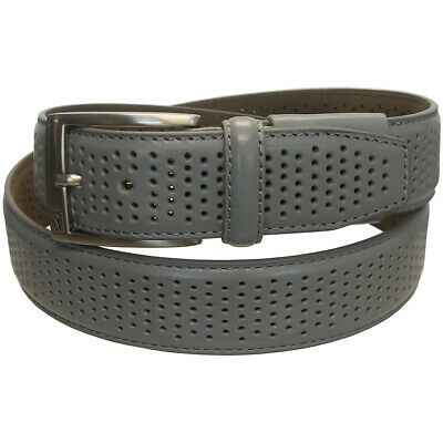 PGA Tour Men's Genuine Leather Stretch Fit Perforated Belt,  Brand New