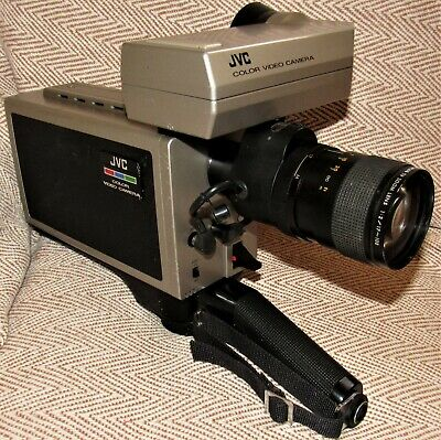 Vintage Professional JVC CV 5001 Video Camera