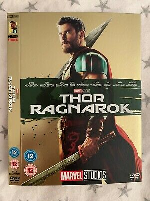 **Thor Ragnarok - Sleeve ONLY (NO DVD) - Marvel O-Ring slip case**