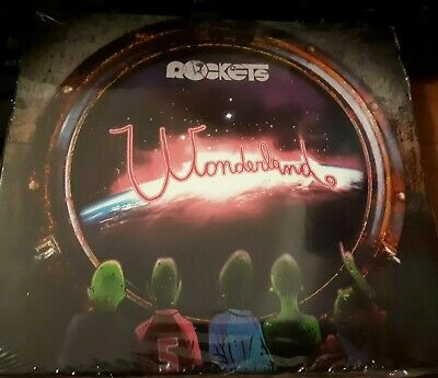Rockets - Wonderland - Raro Cd Sigillato (Sealed) Digipak
