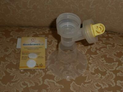 Medela Breastshield with 36mm Insert and SEALED MEMBRANES!