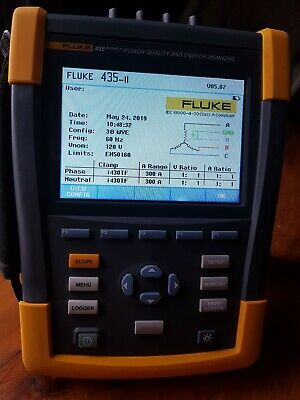 Fluke 435 - II, 3 Phase Power Quality and Energy Analyzer. USED!!!