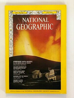 National Geographic - July 1973 - Vol. 144, No. 1
