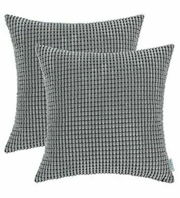 CaliTime Cozy Throw Pillow Cases Covers