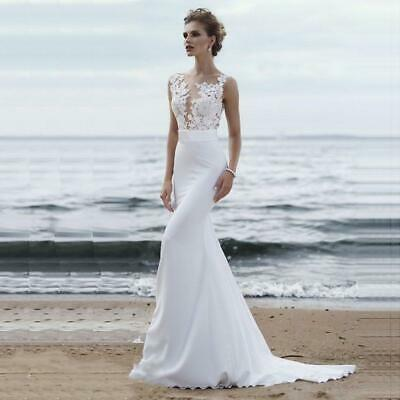 fc347a9edec6 Bridal Dresses 2019 Sexy Simple Scoop Neck Sleeveless Wedding Gown Tulle  Lace wi