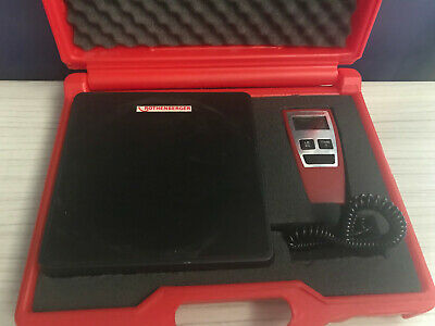 Rothenberger Charging Scales R173004.16 Working