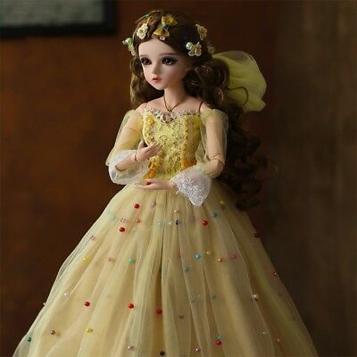 Ball Joints 1/3 BJD Doll SD Toys Lovely Girl FULL SET Dolls Birthday Xmas Gift