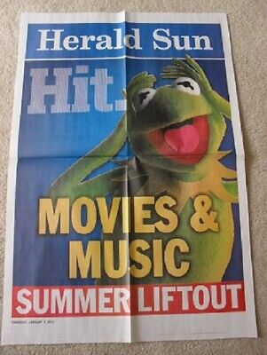 Kermit the Frog  The Muppets Jim Henson Sesame Street Newspaper Advert Poster