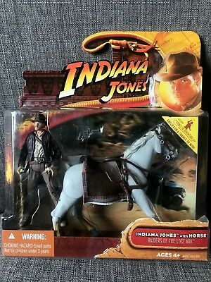 Indiana Jones with Horse Raiders of the Lost Ark 2008 New!! Sealed Box!!