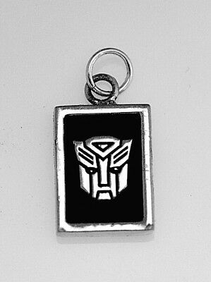 LOOK REAL Solid Sterling silver Transformers Autobots charm