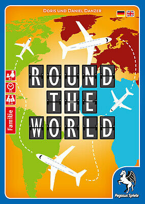 Round the World Board Game
