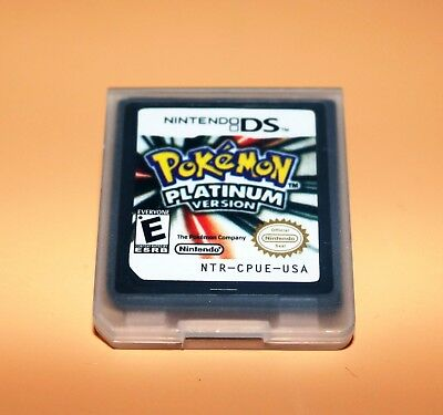 Pokemon:Platinum version (Nintendo DS,2009)  Game Only for DS / DSi / 3DS XL