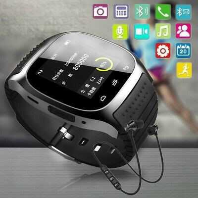 -5% OFF Newest M26 Bluetooth Smart Wrist Watch Phone Mate For IOS Android iPhone