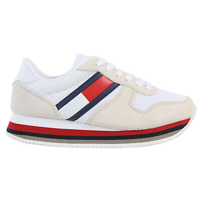 f335eff6c82240 WOMENS TOMMY HILFIGER Phil Trainers Delicacy F Trainers Shoes - EUR ...