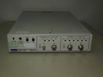 Chase Pre-selector Amplifier M#: AUP9211A 9khz-1Ghz Tested OK.          OTT