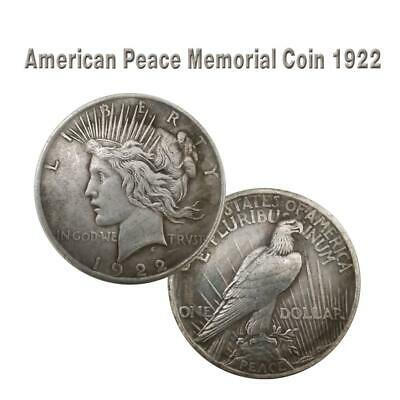 Antique Silver Dollar American 1921/1922/1927 Statue Of Liberty Collection Coin