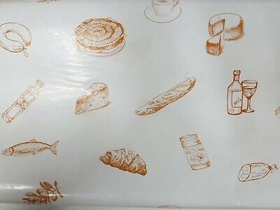 100 Printed Waxed Deli Wrap, Cheese Wrap, Tray Liners, Display Sheets 250x380mm