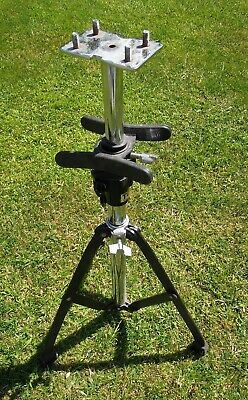 TOCA PERCUSSION TRYPOD-HEAVY DUTY, 4 kg+. in weight) (Music-Photography, etc)