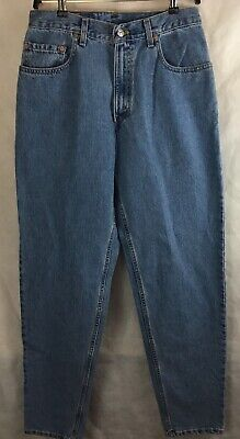 f7ea4d2e Levi Strauss 560 Blue Jeans Loose Fit Tapered Leg Size 32 X 36 Red Tab New
