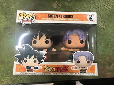 Funko Pop Goten & Trunks Fusion 2 Pack Dragon Ball Z