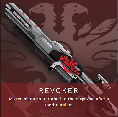 Destiny 2 Shadowkeep Revoker Full Quest and rating 1 day Recovery PS4/PC/Xbox