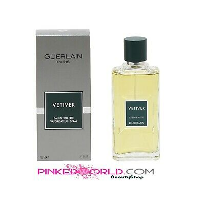 Spray Guerlain Nuovo Uomo Vetiver Edt 100ml Profumo Originale n80mNw