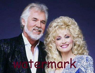 5x7 Kenny Rogers and Dolly Parton Look Timeless In 1980 PUBLICITY PHOTO