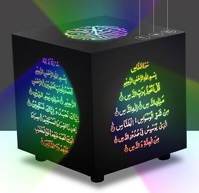 Cube Quran Speaker Quran Player Wireless Bluetooth Touch Lamp Remote Muslim