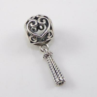 9af94cfe7 Authentic Pandora Enchanted Heart Tassel Pendant Charm Bead #797037 - FZ366