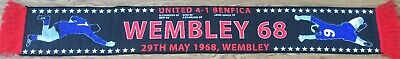 manchester united Wemley 1968 Champions League Winners scarf Best