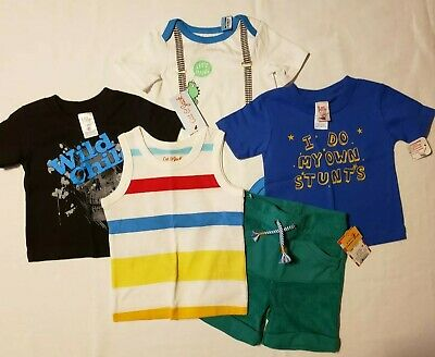 Boys 12 Month NWT Lot Cat & Jack And Little Teez