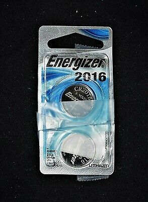 Energizer CR2016 Lithium 3V Battery (2piece) Open Package, Never Used