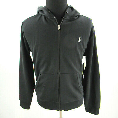 c7cb16d3d NEW Polo Ralph Lauren Performance Hoodie Mens Large Double-Knit Full-Zip  NWT  98