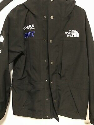 Supreme X TNF EXPEDITION JACKET BLACK Fw18 Size Small